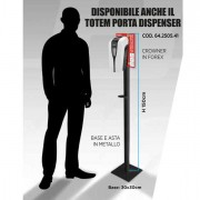 Dispenser per sapone - Totem in metallo H150cm per dispenser automatico Gelly -