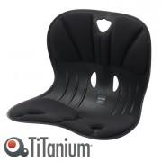 Sedute attesa e accessori - Seduta ergonomica Curble Wider nero TiTanium -