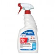 Detergenti e detersivi per pulizia - SANIALC Ultra 750ml detergente alcolico per superfici e tessuti Sanitec -