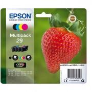 Prodotti per stampanti grafiche Epson - Conf. 4 Cartucce Ink 1 x Colore Serie 29 Fragola -