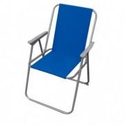 Tavoli e sedute da esterni - Sedia pieghevole blu Relax -