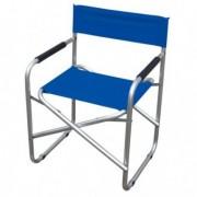 Tavoli e sedute da esterni - Sedia pieghevole blu Regista -