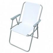 Tavoli e sedute da esterni - Sedia pieghevole bianca Relax -