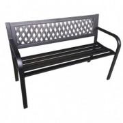 Tavoli e sedute da esterni - Panca da giardino Boulevard L120cm in acciaio e ABS -