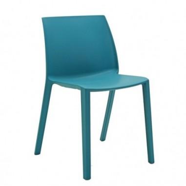 Sedute attesa e accessori - Seduta attesa Dory S turchese senza BRACCIOLI -