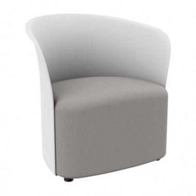 Sedute attesa e accessori - Poltrona Crown bianco Paperflow -