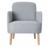 Sedute attesa e accessori - Poltrona Brooks grigio chiaro Paperflow -