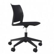 Sedute operative - Sedia home/office Alpha GN nero S/braccioli -