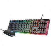 Mouse e tastiere - Set Tastiera + mouse gaming Azor GXT838 Trust -