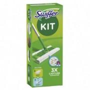 Accessori per pulizia ambienti - Swiffer Dry - STARTER KIT COMPLETO con 8 PANNI e 3 PANNI WET -