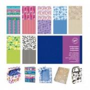 Accessori lavori manuali - Busta 7 fg carta Scrapbooking 30.5x30.5cm ass. Provenzale Cwr -