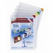 Buste per identificazione - Confezione 5 tasche a L con retro adesivo f.to A4 multicolor Tarifold -