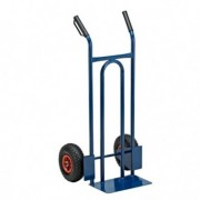 Carrelli per movimentazione - Carrello trasporto universale con ruota pneumatica portata max 200kg -