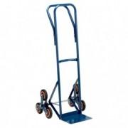 Carrelli per movimentazione - Carrello trasporto per scale con ruota tris portata max 120kg -