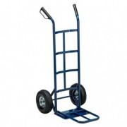Carrelli per movimentazione - Carrello trasporto grandi volumi con ruota pneumatica portata max 250kg -