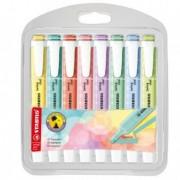 Pastelli colorati - Astuccio 8 colori evidenziatore SWING COOL pastel STABILO 275/8-08-11 -