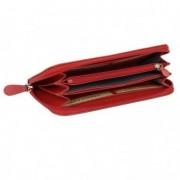 Oggetti di design vari - Portafogli Frenchy donna 19x10cm vera pelle rosso Laurige France -