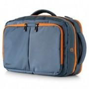 Borse cartelle e valigie - Borsa zainabile bi-bag Blackout dim. 44x28x18cm blu-arancio 9235BO3123 INTEMPO -
