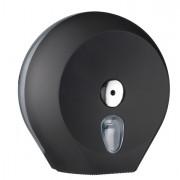 Carta igienica e distributori - Dispenser Carta Igienica Midi Jumbo diam.23Cm Nero Soft Touch -