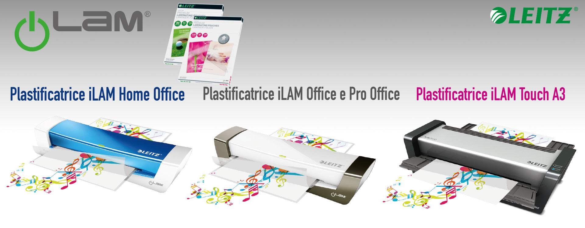 Plastificatrici ILAM Leitz