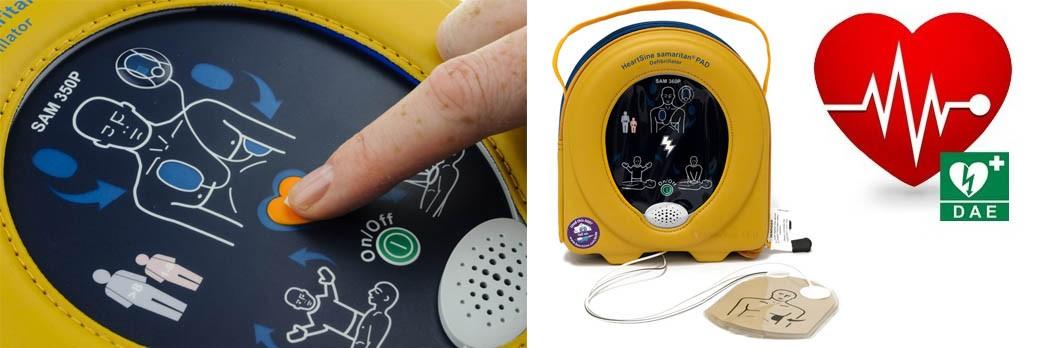 Defibrillatore Semiautomatico Samaritan® PAD 350P