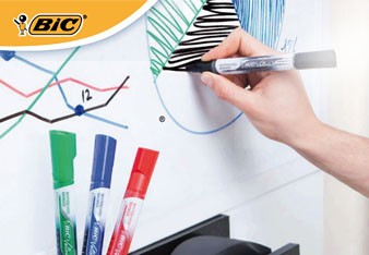 Whiteboard Marker Velleda Liquid Ink di Bic